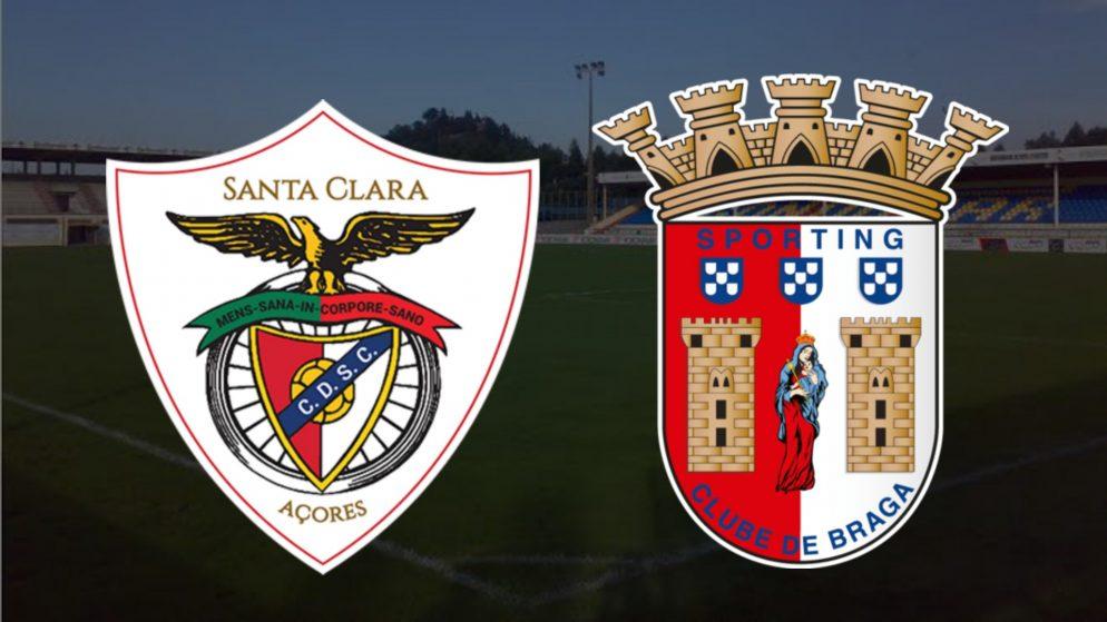 Apostas Santa Clara x Braga Campeonato Português 14/02/2021
