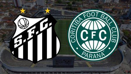 Apostas Santos x Coritiba Brasileirão 13/02/2021