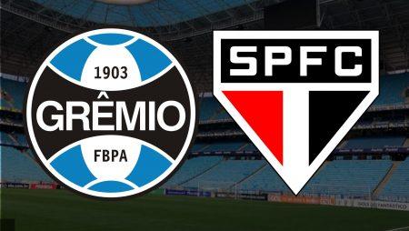 Apostas Grêmio x São Paulo Brasileirão 14/02/2021