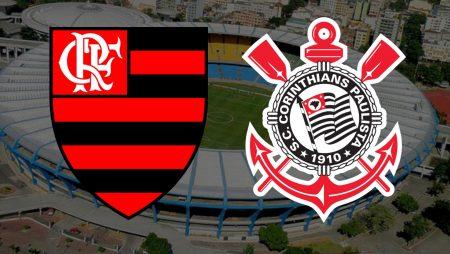 Apostas Flamengo x Corinthians Brasileirão 14/02/2021