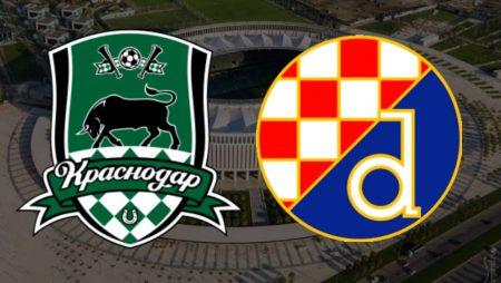 Apostas Krasnodar x Dínamo Zagreb Liga Europa 18/02/2021