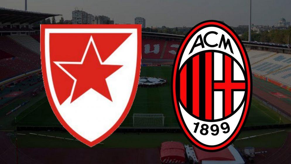 Apostas Estrela Vermelha x Milan Liga Europa 18/02/2021