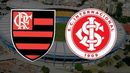 Apostas Flamengo x Internacional Brasileirão 21/02/2021