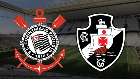 Apostas Corinthians x Vasco Brasileirão 21/02/2021
