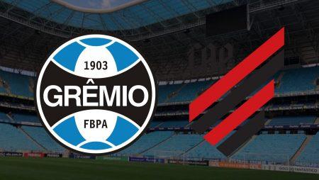 Apostas Grêmio x Athletico Paranaense Brasileirão 21/02/2021