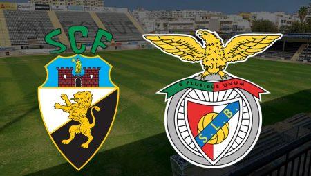 Apostas Farense x Benfica Campeonato Português 21/02/2021