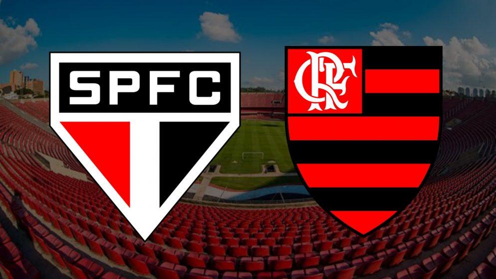 Apostas São Paulo x Flamengo Brasileirão 25/02/2021