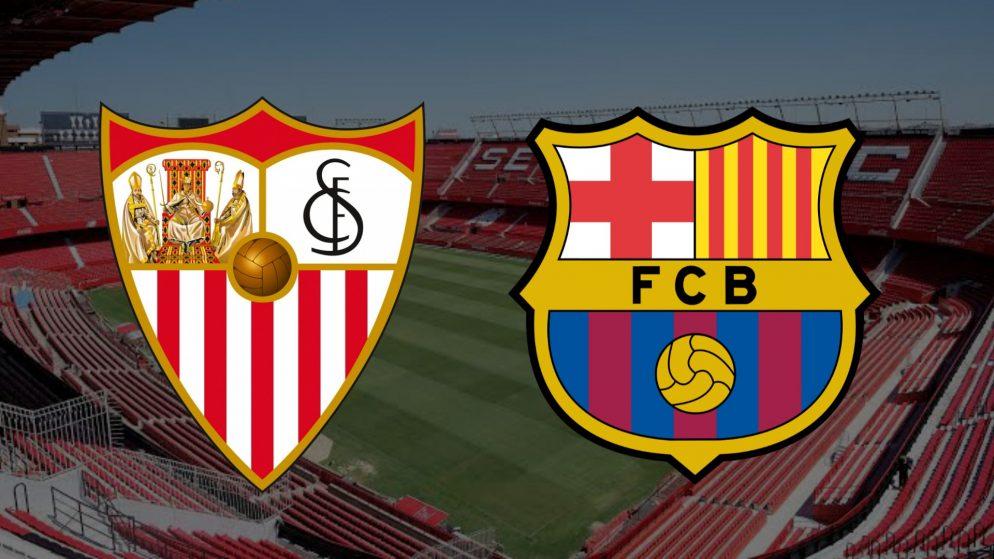 Apostas Sevilla x Barcelona La Liga 27/02/2021