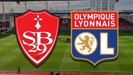 Apostas Brestois x Lyon Ligue 1 19/02/2021