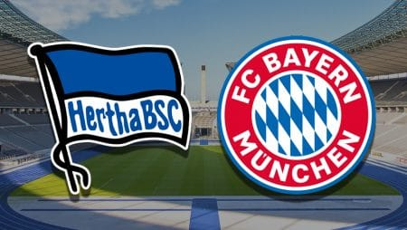 Apostas Hertha Berlin x Bayern de Munique Bundesliga 05/02/2021