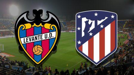 Apostas Levante x Atlético de Madrid La Liga 17/02/2021