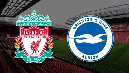 Apostas Liverpool x Brighton Premier League 03/02/2021