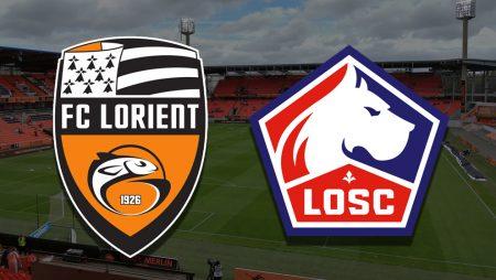 Apostas Lorient x Lille Ligue 1 21/02/2021
