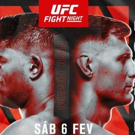 Apostas UFC Overeem x Volkov 06/02/2021