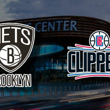 Apostas Brooklyn Nets x Los Angeles Clippers NBA 02/02/2021