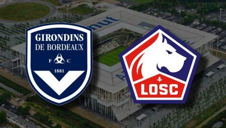 Apostas Bordeaux x Lille Campeonato Francês 03/02/2021