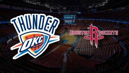 Apostas Oklahoma City Thunder x Houston Rockets NBA 03/02/2021