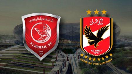Apostas Al Duhail x Al Ahly Mundial de Clubes da FIFA 04/02/2021
