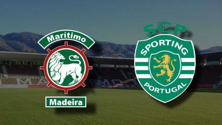 Apostas Marítimo x Sporting Campeonato Português 05/02/2021