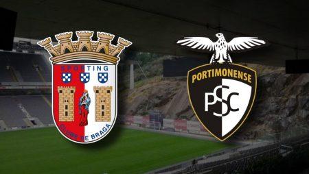 Apostas Braga x Portimonense Campeonato Português 04/02/2021