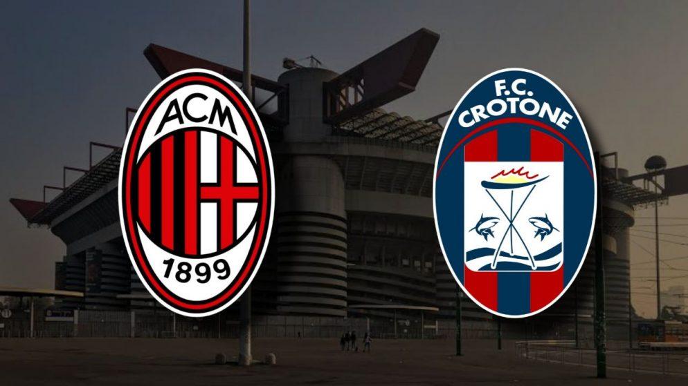 Apostas Milan x Crotone Serie A 07/02/2021