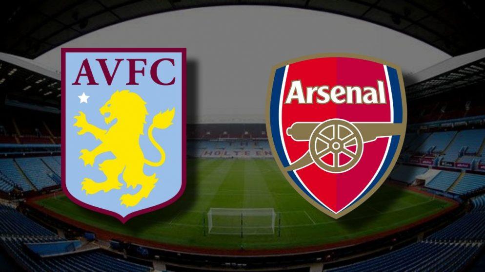 Apostas Aston Villa x Arsenal Premier League 06/02/2021