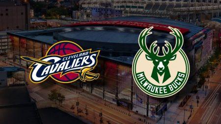 Apostas Cleveland Cavaliers x Milwaukee Bucks NBA 05/02/2021