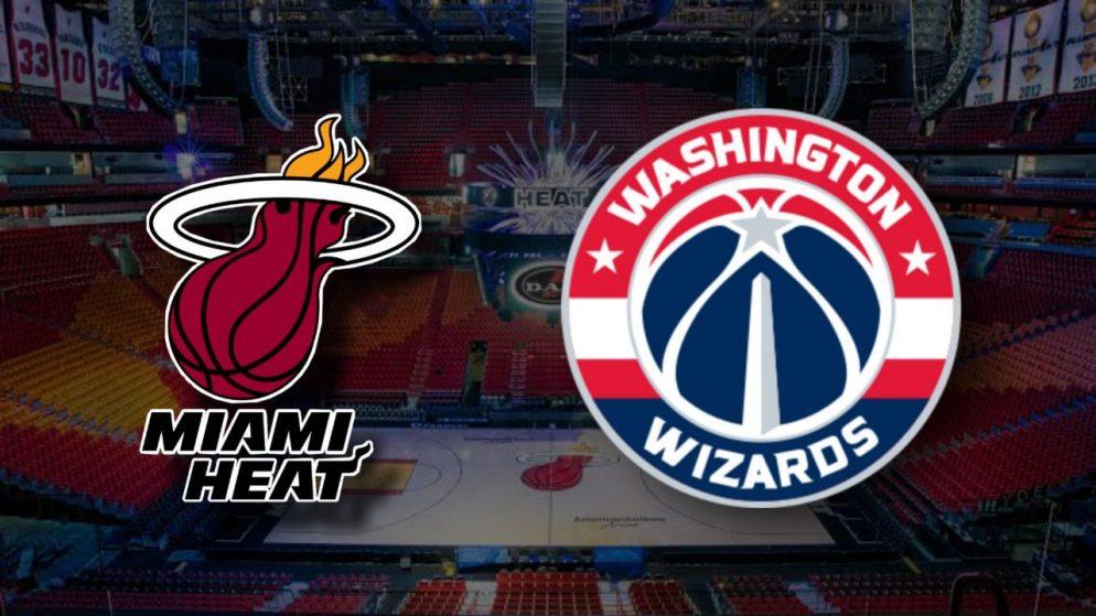 Apostas Miami Heat x Washington Wizards NBA 05/02/2021