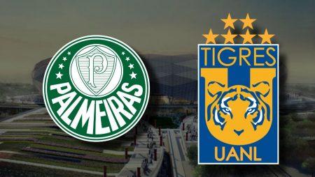 Apostas Palmeiras x Tigres Mundial de Clubes da FIFA 07/02/2021