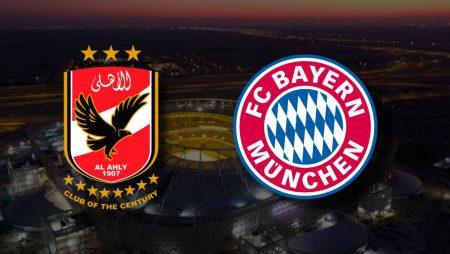 Apostas Al Ahly x Bayern de Munique Mundial de Clubes 08/02/2021