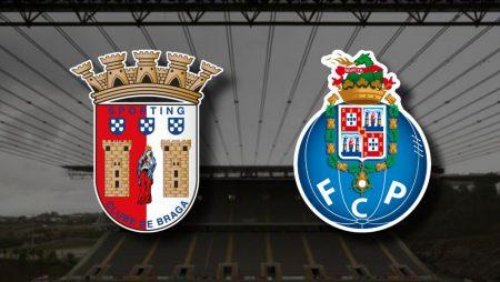 Apostas Braga x Porto Taça de Portugal 10/02/2021