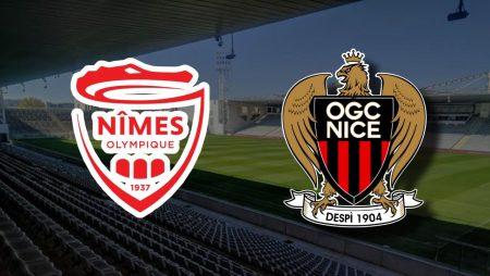 Apostas Nîmes Olympique x Nice Copa da França 10/02/2021