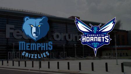 Apostas Memphis Grizzlies x Charlotte Hornets NBA 10/02/2021