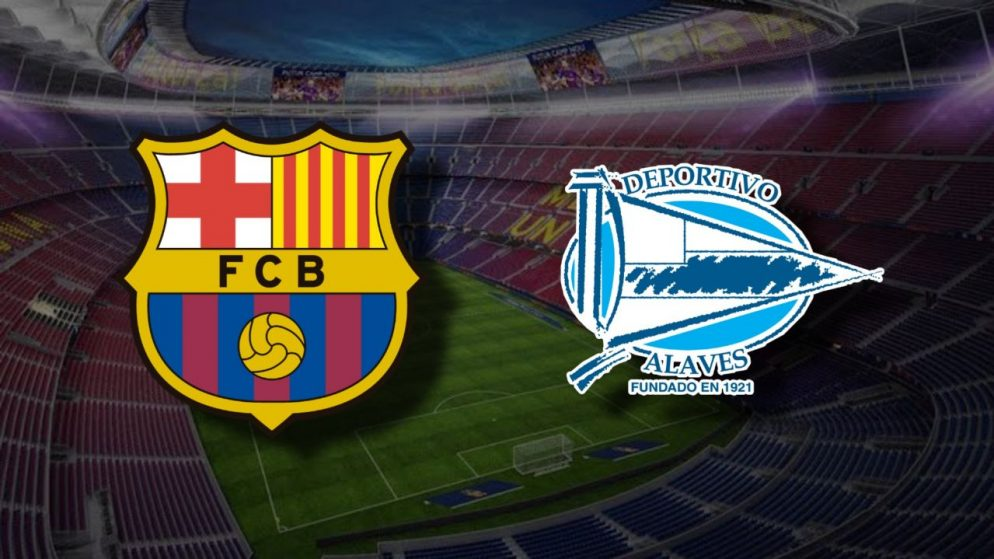 Apostas Barcelona x Alavés La Liga 13/02/2021