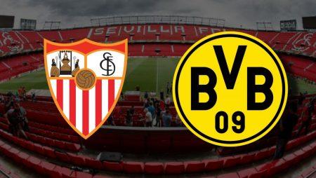 Apostas Sevilla x Borussia Dortmund Liga dos Campeões 17/02/2021