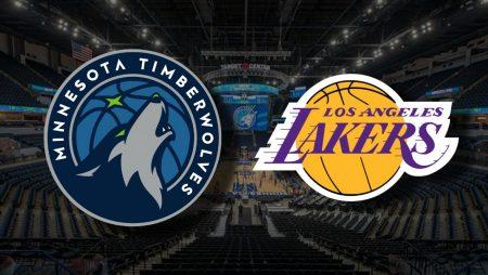 Apostas Minnesota Timberwolves x Los Angeles Lakers NBA 16/02/2021