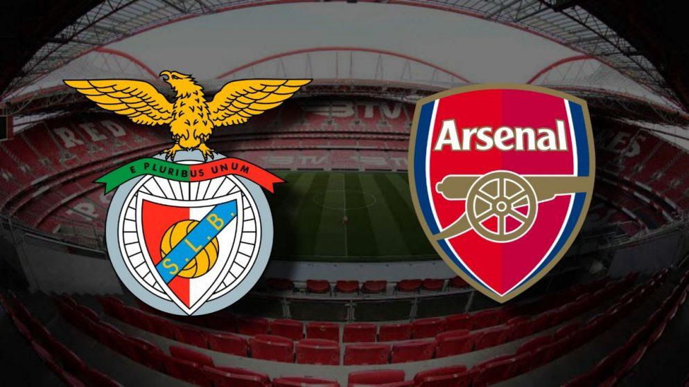 Apostas Benfica x Arsenal Liga Europa 18/02/2021