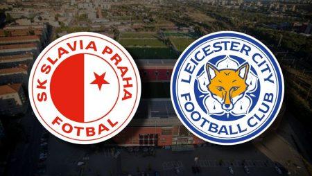Apostas Slavia Praha x Leicester Liga Europa 18/02/2021