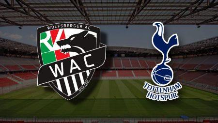 Apostas Wolfsberger x Tottenham Liga Europa 18/02/2021