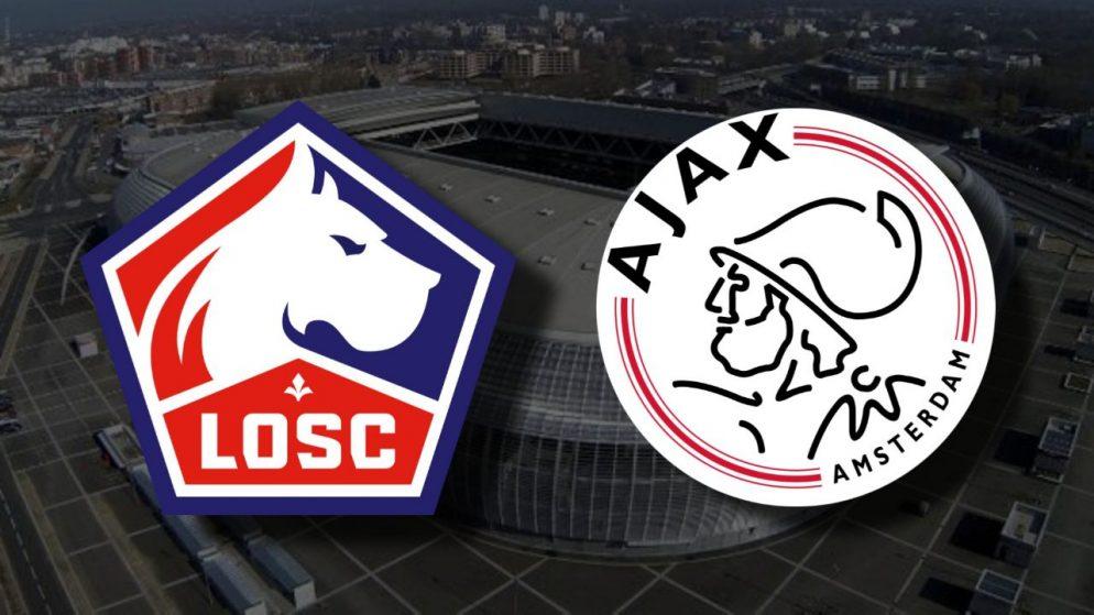 Apostas Lille x Ajax Liga Europa 18/02/2021