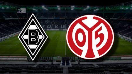 Apostas Borussia Mönchengladbach x Mainz Bundesliga 20/02/2021