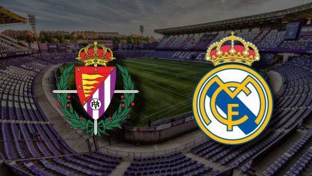 Apostas Real Valladolid x Real Madrid La Liga 20/02/2021