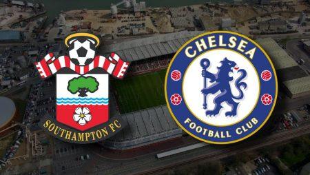 Apostas Southampton x Chelsea Premier League 20/02/2021