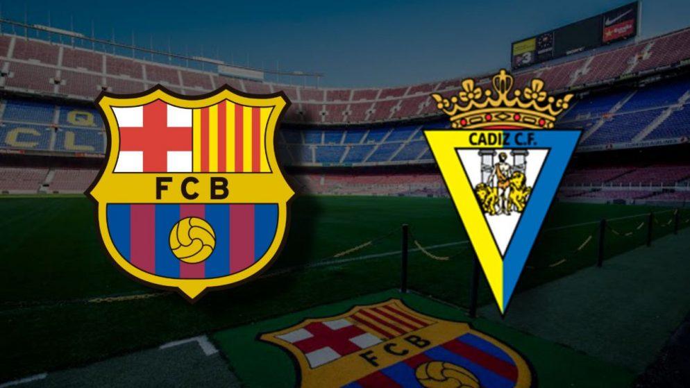 Apostas Barcelona x Cádiz La Liga 21/02/2021