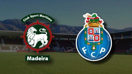 Apostas Marítimo x Porto Primeira Liga 22/02/2021