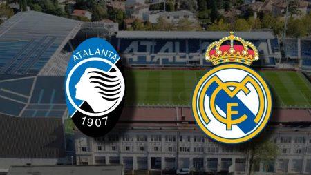Apostas Atalanta x Real Madrid Liga dos Campeões 24/02/2021