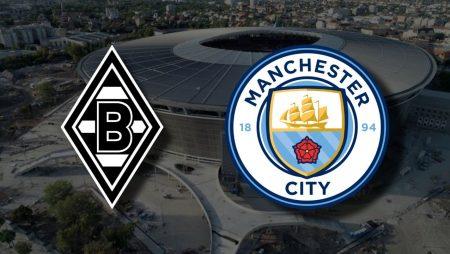Apostas Borussia Mönchengladbach x Manchester City Liga dos Campeões 24/02/2021