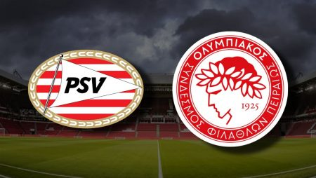 Apostas PSV Eindhoven x Olympiacos Liga Europa 25/02/2021