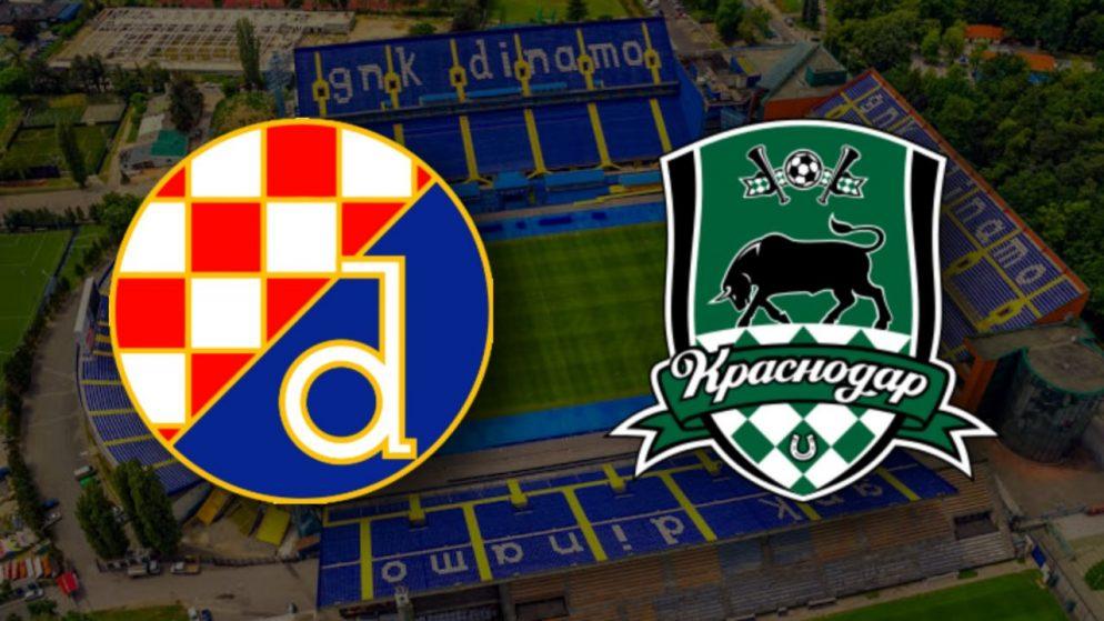 Apostas Dínamo Zagreb x Krasnodar Liga Europa 25/02/2021