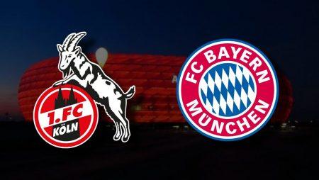 Apostas Bayern de Munique x Colônia Bundesliga 27/02/2021